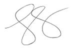 J.C Parets Signature