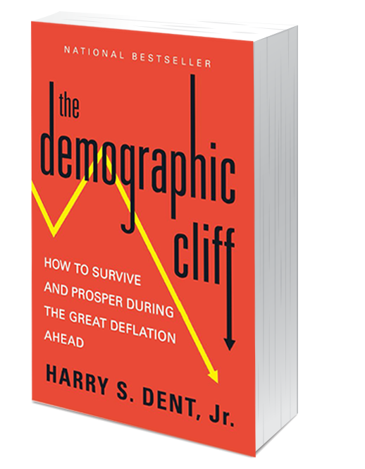 The Demographic Cliff book